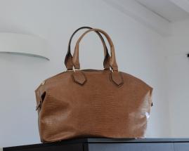 italian-style-handtaschen-modell-cuscino-iguana-braun